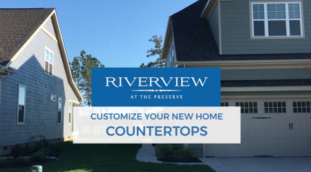 Countertops: Custom Features at Riverview at the Preserve